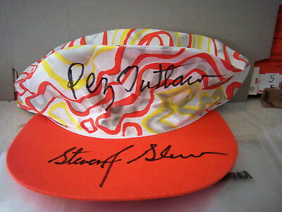 Pez Outlaw Psycho Painters Hat ..... signed