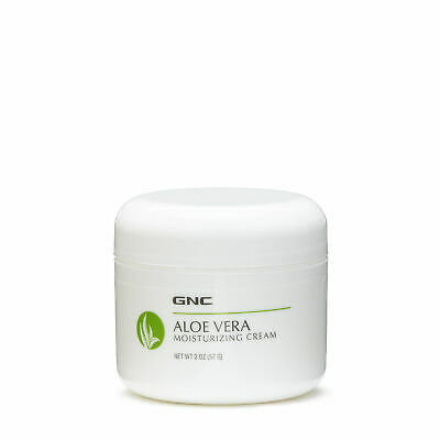 GNC Aloe Vera Moisturizing Cream, Soothes and Softens Skin - 2 Ounce