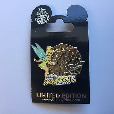 DCA - Cast Exclusive - Mickey's Fun Wheel - Tinker Bell LE 1500 Disney Pin 82840
