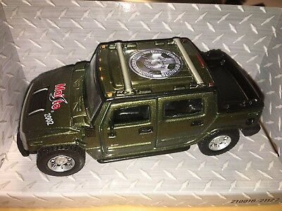 Hummer 2002 Toy Fair MAISTO SPECIAL EDITION Diecast Olive Green