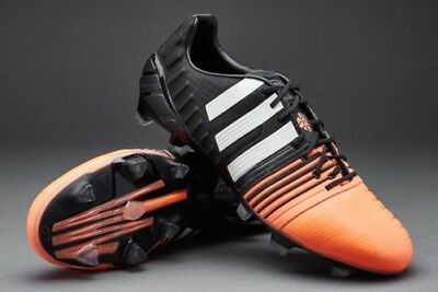 8e056266d804 adidas Nitrocharge 1.0 FG Black Firm Ground Performance Football Soccer  Boots