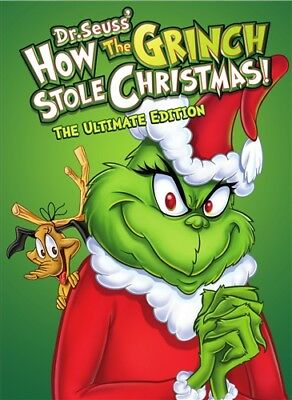 HOW THE GRINCH STOLE CHRISTMAS New Sealed DVD 1966 The Ultimate Edition