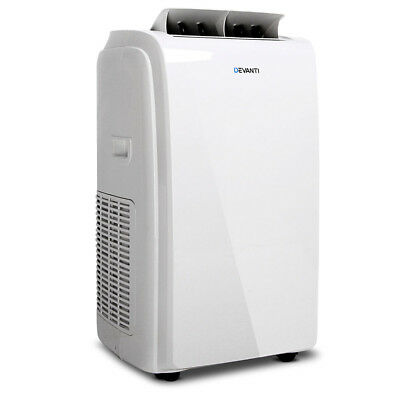 Devanti Portable Reverse Cycle Heater & Air Conditioner - White Fast & Free Post