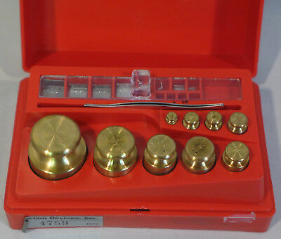 Troemner Scale Calibration Weights 100g to 1mg