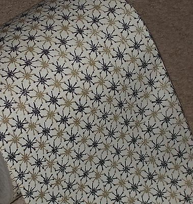 VINTAGE 1950s CHRISTMAS WRAPPING PAPER GIFT WRAP MID CENTURY ATOMIC AGE 2 YARDS