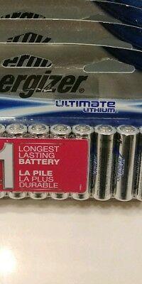 54 count AA Energizer Ultimate Lithium  Batteries