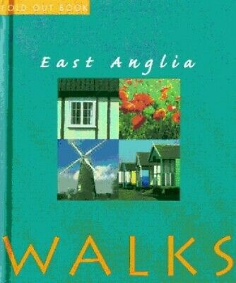 East Anglia Walks (Fold Out Books) by Yates, Annette Hardback Book The Cheap