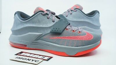 ... Nike Kd Vii 7 Used Size 13 Calm Before The Storm Grey Hyper Punch  653996- ... ee168b5744