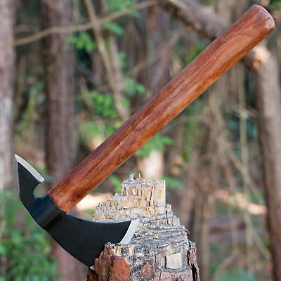 "12"" SURVIVAL TOMAHAWK TACTICAL THROWING AXE BATTLE Hatchet Knife Hawk"