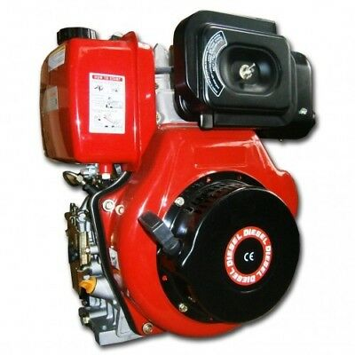 Diesel Engine 10 HP Electric Start OHV Motor Air Cooled 4 Stroke