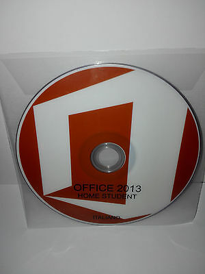 Dvd - Office 2013 Home Student - 32/64 Bit Full - Italiano (Microsoft)