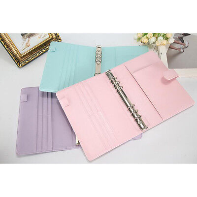 Diary Notebook Personal Pocket Organizer Planner PU Leather Filofax Cove  6A