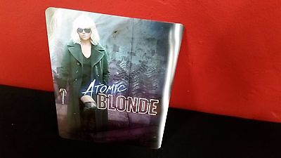 ATOMIC BLONDE - 3D Lenticular Magnet / Magnetic Cover for Bluray Steelbook