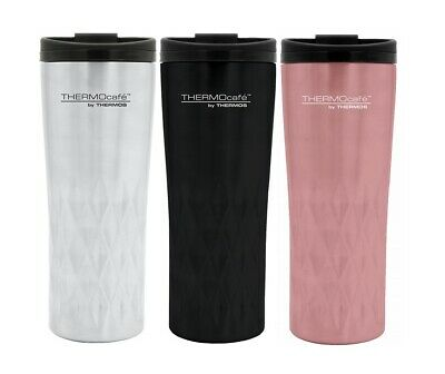 Thermocafe by Thermos Travel Mug 400ml Stainless Steel Hot & Cold Drinks