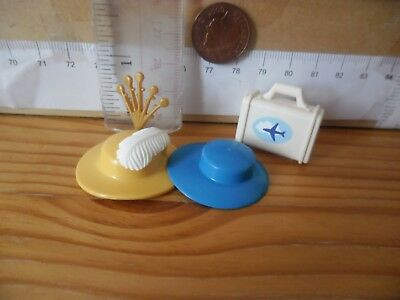 Feathers /& Bag Playmobil New Spare Parts 1070 Hats x 2