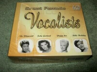 Various  - Great Female Vocalists Box set CD