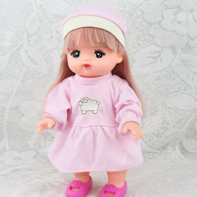 Lovely Dress Hat Outfits For Mellchan Baby Reborn Dolls Clothing Accessory
