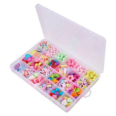 DIY Jewelry Making Beads Craft Necklace Bracelets Letter Acrylic Crafting Beads