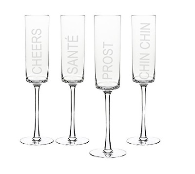 Cathys Concepts Personalized Champagne Coupe Toasting Flutes Set of 2 Letter Z Cathy/'s Concepts 1230-2-Z