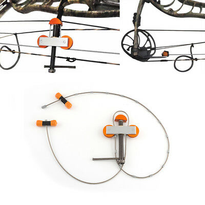 Aluminum Metal Cable Bow Press Bowmaster Portable Style For CompoundBow Hunting