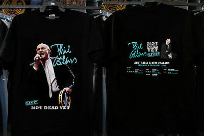 Phil Collins Not Dead Yet Australia & New Zealand Tour 2019 Gildan size S-3XL