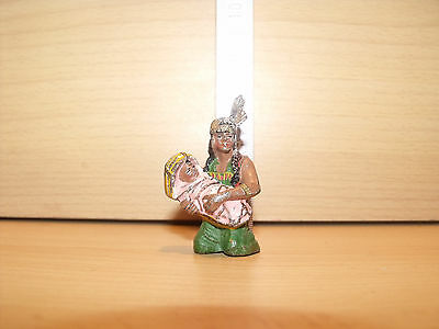 Aufstellfiguren Preiser Elastolin Spur G Figuren In 1:25-54616 #e Indianer Squaw M.kind