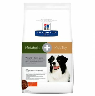 Hills Prescription Diet Canine Metabolic Mobility Weight Loss Joint Aid Dog Food