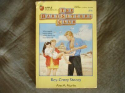 Boy-Crazy Stacey by Martin, Ann M. Book The Cheap Fast Free Post