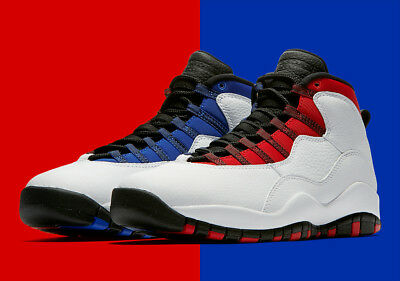 c36603f4e721 Nike Air Jordan Retro 10 GS USA WESTBROOK GRADUATION WHITE 310806-160 4Y  Kids