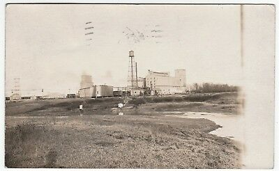 RARE Real Photo - Western Canada Flour Mill - Winnipeg Manitoba 1910 RPPC