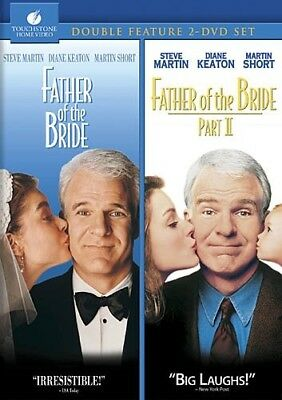 FATHER OF THE BRIDE I + II New 2 DVD Double Feature 1 2 Steve Martin