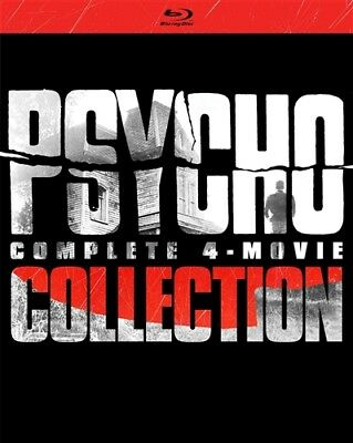 PSYCHO COMPLETE 4-MOVIE COLLECTION New Sealed Blu-ray 1 2 3 4