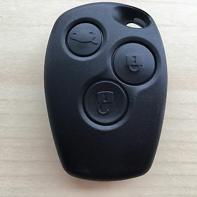 RENAULT Trafic Master Clio Modus 3 Button Remote Key Fob Case Shell for Repair