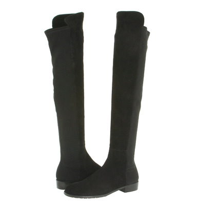 ed01abf08db STUART WEITZMAN VANLAND over the knee boots black 6.5 new with tag ...
