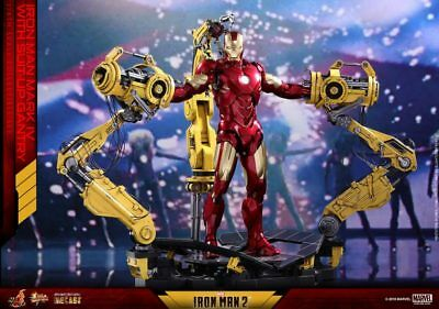 HOT TOYS 1/6 Iron Man Mark IV with Suit-Up Gantry - HT903100 IN STOCK -UK SELLER