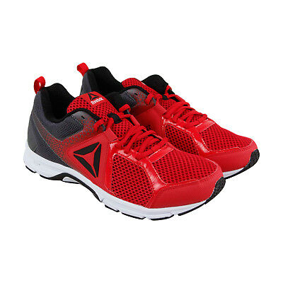 b366c1016b48 REEBOK RUNNER 2.0 Mt Mens Red Mesh Athletic Lace Up Running Shoes ...