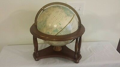 "CRAM IMPERIAL 12"" GLOBE WORLD on Powell woof Stand"