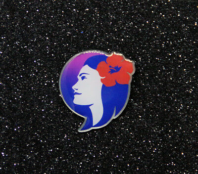Pin HAWAIIAN AIRLINES - new logo - metal Pin for Crew, Pilots, Ground Staff