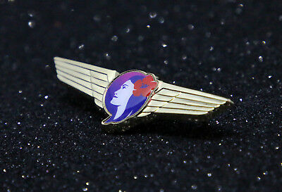 WING Pin HAWAIIAN AIRLINES WINGS metal for Pilot Crew 50mm / 2inch Replica