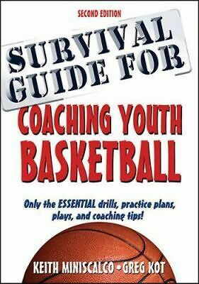 NEW Survival Guide for Coaching Youth Basketball By Keith Miniscalco Paperback