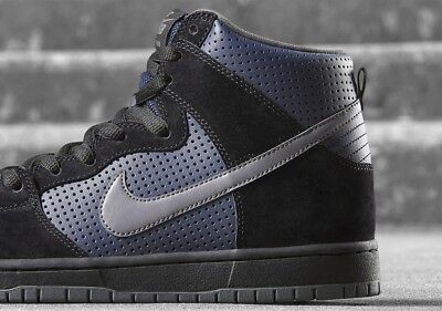finest selection 39957 04d3d Nike SB Zoom Dunk High GINO IANNUCCI BLACK GRAPHITE OBSIDIAN 881758-001 sz  12