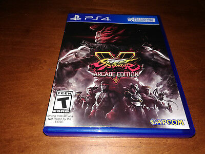 Street Fighter V: Arcade Edition (Sony PlayStation 4, 2018) PS4