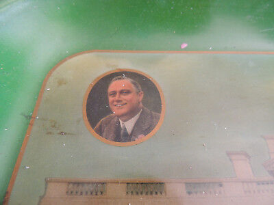 Original Franklin D. Roosevelt Campaign Tray White House