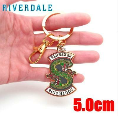 Riverdale South Side Serpents Key Chain Keyrings Kids Ornament Gift