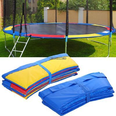 """10-15"""" Trampoline Replacement Safety Pad Round Bounce Jump Frame Round Cover"""