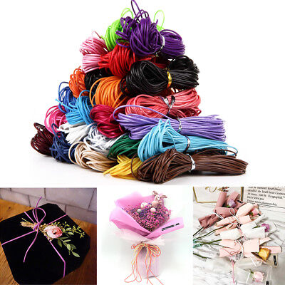 10 Meters 1mm Waxed Cotton Cord DIY String Necklace Rope Bead Bracelet Making