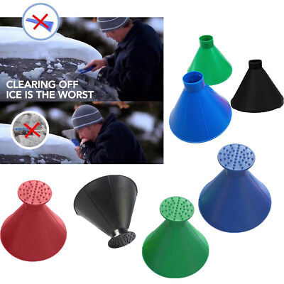 Practical Car Windshield Ice Scraper Scrape-a-round Car Window Ice Snow Cleaner