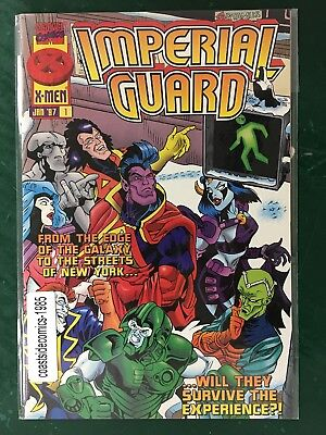 IMPERIAL GUARD #1-3 Complete Set from MARVEL COMICS 1997 VF-NM