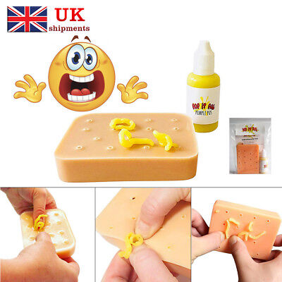 Pop it Pal Pimple Peach Popping Funny Toys Popper Remover Stop Picking Your Face