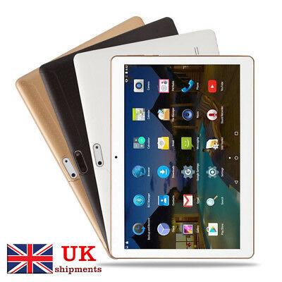 "10.1"" Tablet PC 4G+64G Android 6.0 Octa-Core Dual SIM &Camera Wifi Phone Phablet"